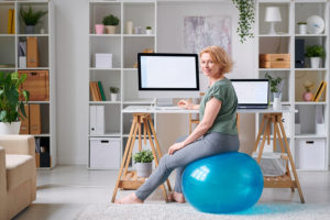 Take time for exercising at home while sheltering in place
