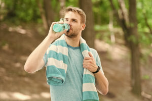 Stay hydrated during summer workouts