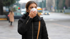 Mask wearing helps against coronavirus and wildfires